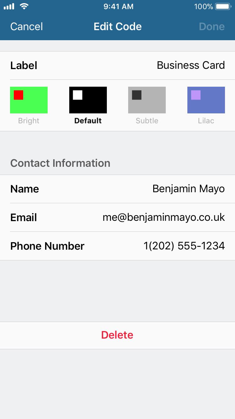 BEST QR CODE GENERATOR APP FOR IPHONE - 5 outils gratuits